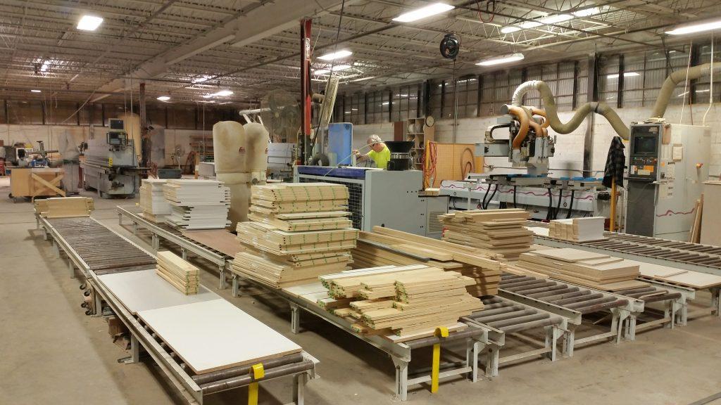 CNC Panel Processing Line